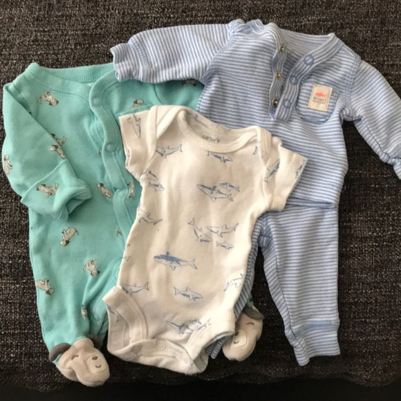 eb154414d Carter's Matching Sets | Carters Boys Preemie Outfit Bundle | Poshmark